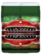 Growling Grill Duvet Cover
