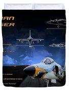 Grumman F-11 Tiger Duvet Cover