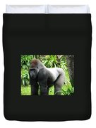 Grumpy Gorilla II Duvet Cover