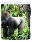 Grumpy Gorilla IIi Duvet Cover