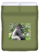 Grumpy Gorilla Duvet Cover