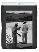 Grumpy Old Men Duvet Cover