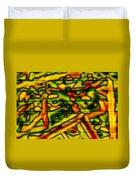 Grunge Graffiti Duvet Cover