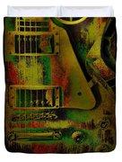 Grunge Metal Duvet Cover