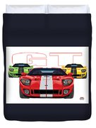 Gt Run Duvet Cover