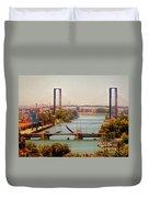 Guadalquivir River Duvet Cover