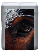 Guadalupe Mountains National Park Mule Duvet Cover
