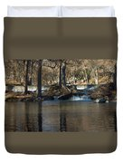 Guadalupe Overflows Duvet Cover