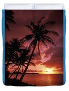 Guam, Tumon Bay Duvet Cover
