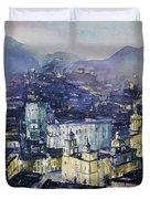 Guanajuato At Night Duvet Cover