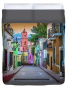 Guanajuato Backstreet Duvet Cover