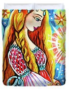 Guardian Mother Of Life Duvet Cover