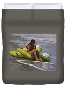 Guardian Of The Rafts Duvet Cover