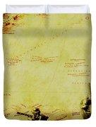 Guarding Histories Untold Duvet Cover