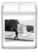 Guarding The Unknown Soldier Duvet Cover