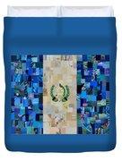 Guatemala Flag Duvet Cover