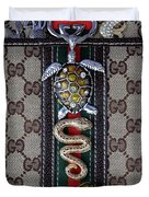 Gucci Monogram With Jewelry 3 Duvet Cover