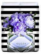 Gucci Perfume Violet Duvet Cover