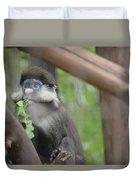 Guenon   4 Duvet Cover