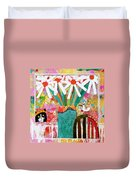 Guess Who Is Coming To Dinner Duvet Cover