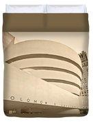 Guggenheim Museum Duvet Cover