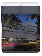 Guggenheim Museum New York  Duvet Cover