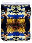 Guiar-symmetrical Art Duvet Cover
