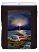 Guiding Night Light Duvet Cover