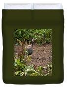 Guineafowl 2 Duvet Cover