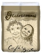 Guinevere's Cafe And Bistro Duvet Cover
