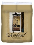 Guinness As Usual Athlone Ireland Duvet Cover