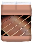 Guitar Abstract 2 Duvet Cover