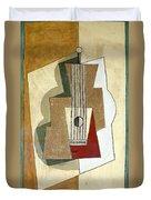 Guitar, By Pablo Picasso, 1919, Kroller-muller Museum, Hoge Velu Duvet Cover