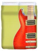 Guitar Pic Duvet Cover