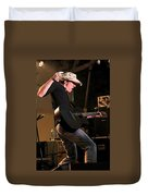 Guitar Player Duvet Cover