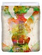 Guitar Siren Duvet Cover