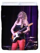 Guitarist Ana Popovic Duvet Cover