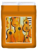 Guitars Duvet Cover