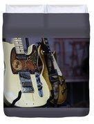 Guitars Duvet Cover