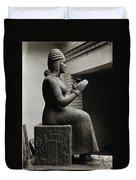 Gula, Mesopotamian Goddess Of Healing Duvet Cover