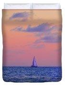 Gulf Coast Sailboat Duvet Cover