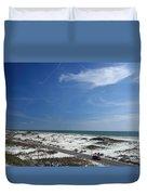 Gulf Of Mexico At Pensacola Beach Duvet Cover