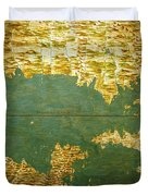 Gulf Of Mexico, States Of Central America, Cuba And Southern United States Duvet Cover