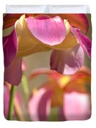 Gulf Purple Pitcher Plant Duvet Cover