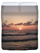 Gulf Sunset Duvet Cover