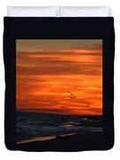 Gulf Sunset Duvet Cover