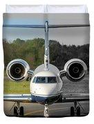 Gulfstream Aerospace G500 I-delo Frontal.nef Duvet Cover