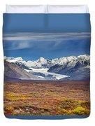 Gulkana Glacier Duvet Cover
