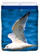 Gull Flying Duvet Cover