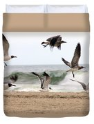 Gulls Away Duvet Cover